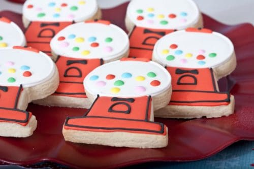Gumball Party Cookies