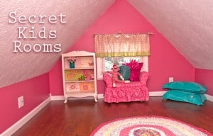 Secret Hidden Kids Rooms