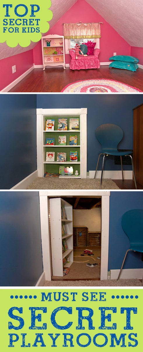 Must See Secret Hidden Kids Rooms LivingLocurto.com