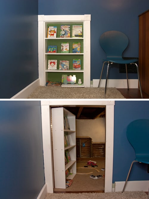 attic to playroom ideas - Secret Rooms for Kids