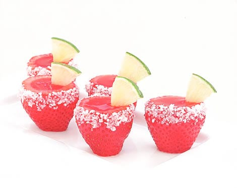 Strawberry Maragarita Jello Shots Recipe