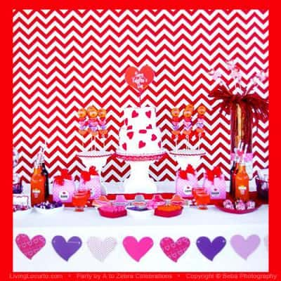 Love Crush Valentines Day Party Ideas {Free Printables}