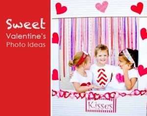 Valentines Day Photo Ideas with Kids