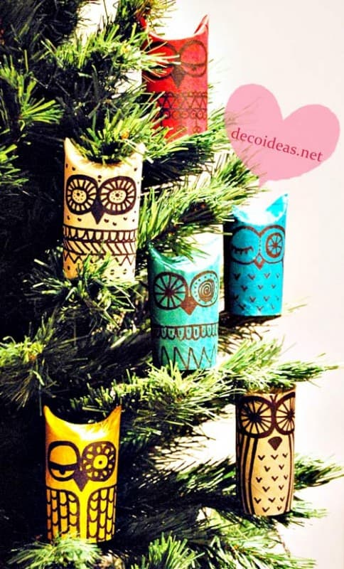 owl craft from toilet paper rolls