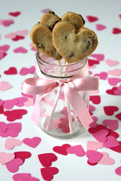 Valentines Day Cookie Pops Recipe & Tutorial