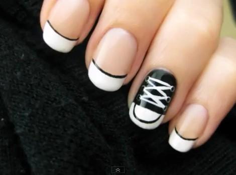 Converse Shoe Nail Polish