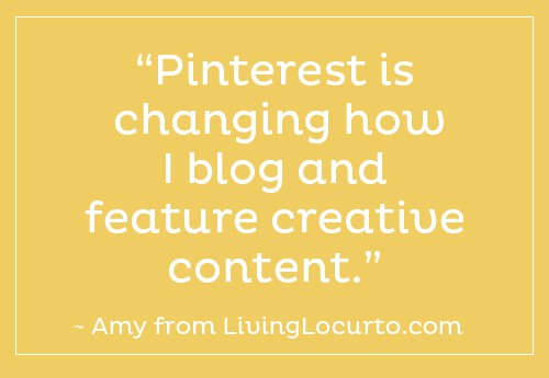 Pinterest Changing How I Blog |  LivingLocurto.com