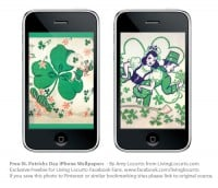 St. Patricks Day Free iPhone Wallpapers