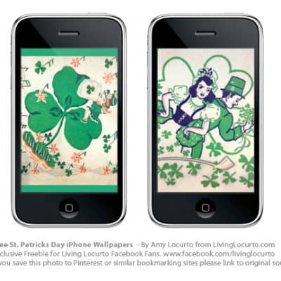 Free St. Patrick's Day iPhone Wallpaper