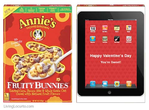 iPad Valentine - Valentines Day Card Holder for Kids. Free Printable by LivingLocurto.com