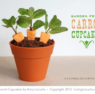 Candy Carrot Cupcakes | Party Food Easter Craft
