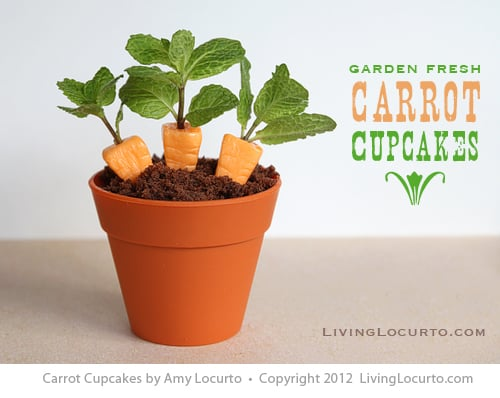Cupcakes de Cenoura - Food Fun - Living Locurto