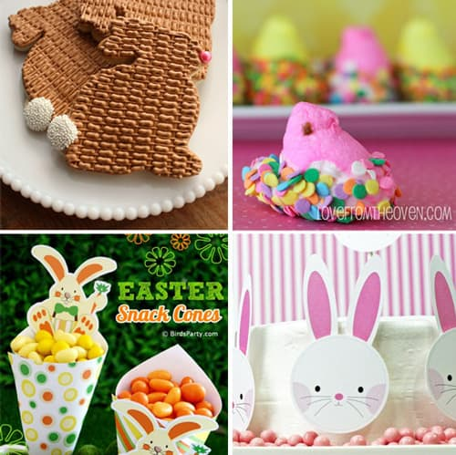 Free party printables for birthday easter celebrations living easter party deas negle Image collections