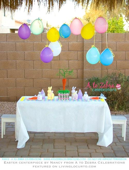 Easter Party Centerpiece Craft Idea
