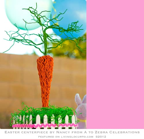 Easter Party Centerpiece Craft Tutorial