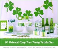 St. Patricks Day Party Printables
