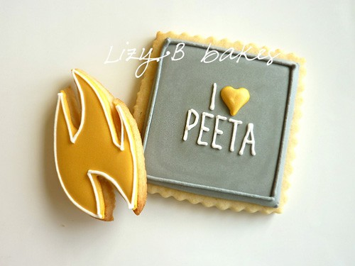 The Hunger Games Cookies Peeta - Movie - Party