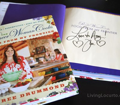 The Pioneer Woman Cooks Autographed Book Giveaway
