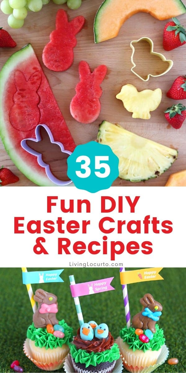 35 Best DIY Easter Crafts and Recipes by Living Locurto
