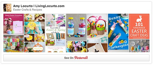 Easter Pinterest Board by Living Locurto