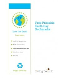 Free Printable Earth Day Bookmarks