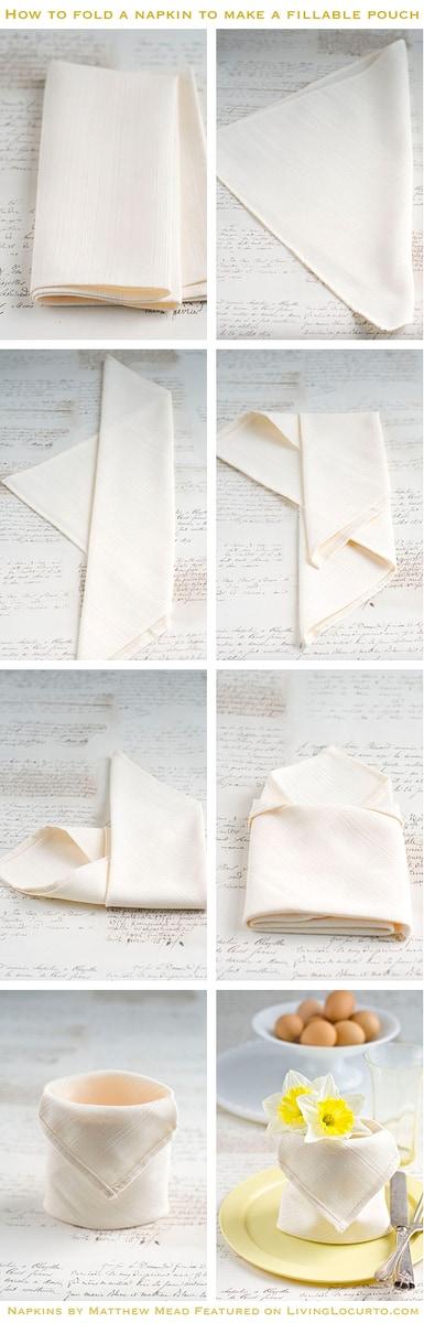 How to fold a Napkin Tutorial