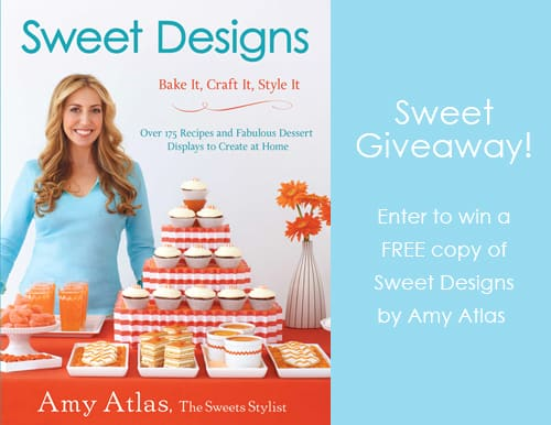 Sweet Designs by Amy Atlas Book Giveaway