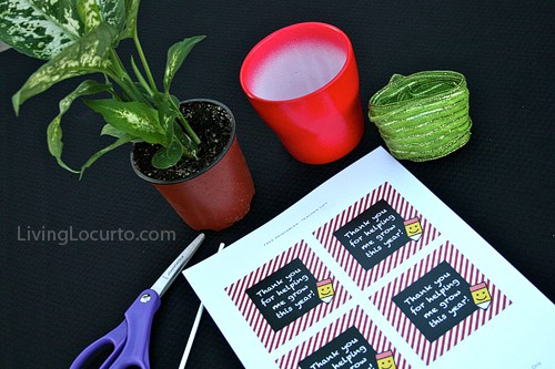 Teacher Appreciation Gift Idea - Free Printable Tags