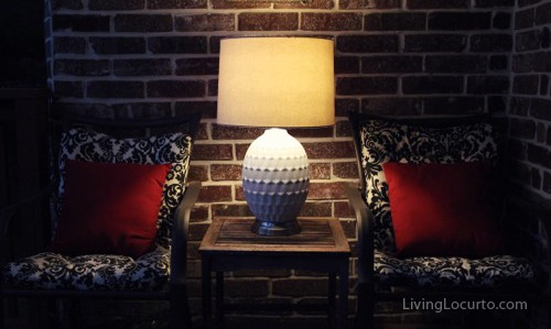 Cordless Lamp - Modern Lantern - Home Decor