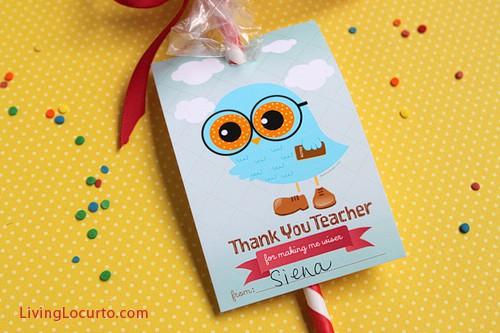 Teacher Appreciation Free Printables & Gift Idea