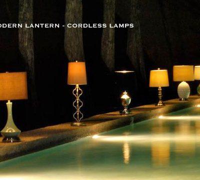 Modern Lantern – Cordless Lamp