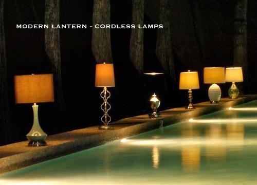 MODERN LANTERN - CORDLESS LAMPS