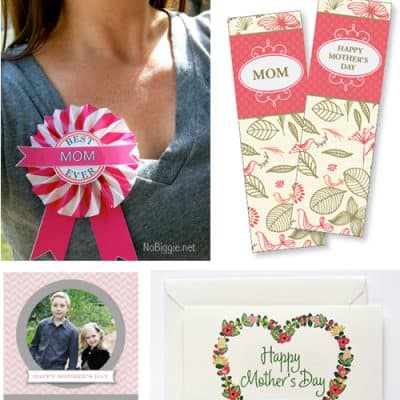 Mother's Day Free Printable Cards & Gifts