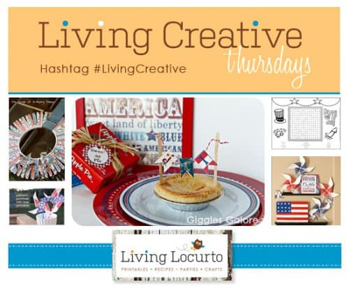 4th of July Craft Ideas - Patriotic Ideas - Living Locurto - #LivingCreative