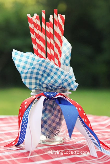 Dollar Decorating Idea - July 4th Party Ideas