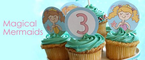 Mermaid Party - Printable Party Collection - Living Locurto