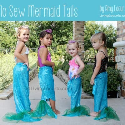 How to Make No-Sew Mermaid Tails | Mermaid Party Craft