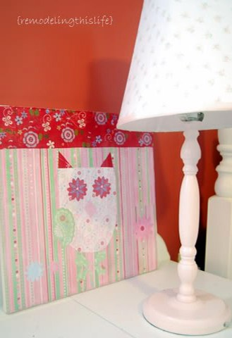 Paper Owl Craft - Wall Art - Kids Room