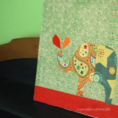 Paper Collage Wall Art – Home Decor Craft