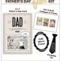 Father's Day Free Printables & Photoshop Templates