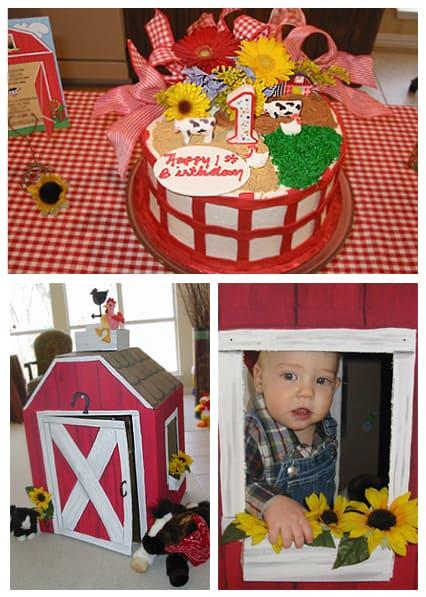 Cardboard Barn Box!