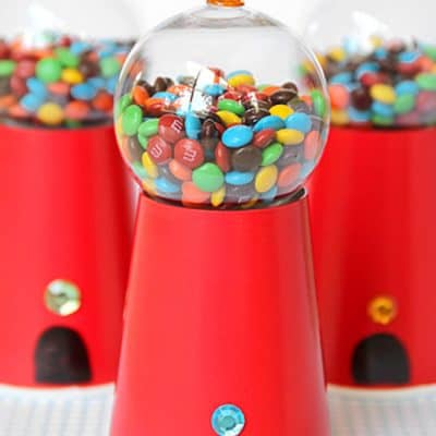 Candy Gumball Machine Party Craft