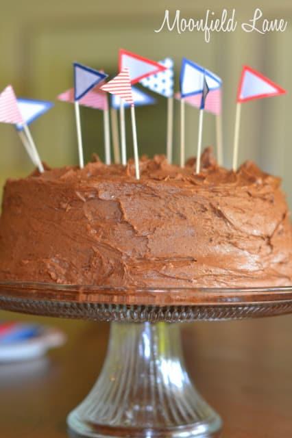 Homemade Chocolate Cake Recipe   #LivingCreative Thursdays   Living Locurto