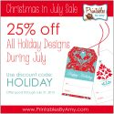 Christmas in July Sale | Printable Party Supplies | Living Locurto