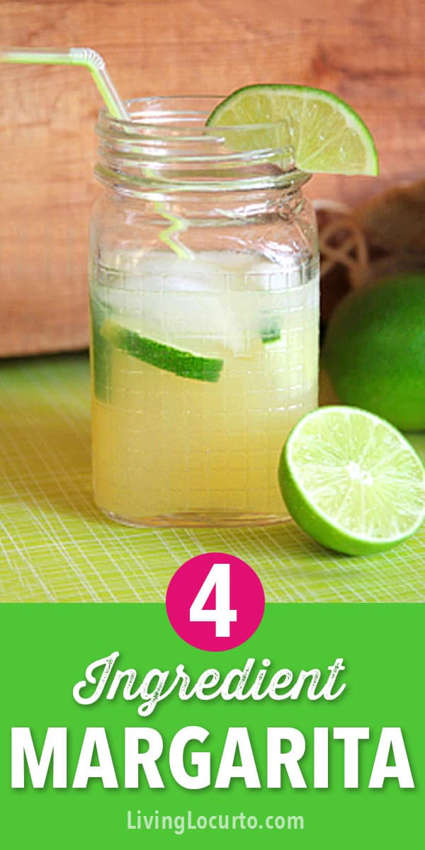 This easy Easy Beer Margarita Recipe will wow your guests! With only 4 ingredients, this tasty margarita served in mason jars makes your party extra festive and perfect for Cinco De Mayo! #margarita #drinks