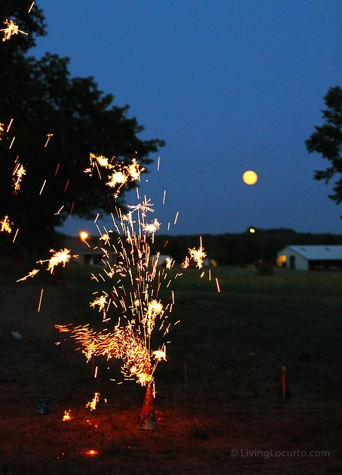 4th of July Fireworks | Living Locurto | Tamron Lens