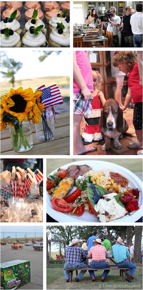 4th of July in Oklahoma | The Pioneer Woman | Living Locurto