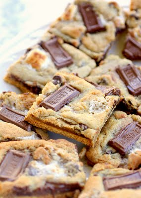 10 Simple Summer Cookie Recipes - S'mores cookies from The Girl Who Ate Everything.