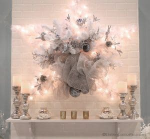 Christmas Lights Holiday Wreath - DIY Home Project by Michaels - Living Locurto