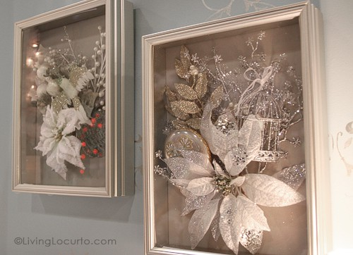 Easy DIY Shadow Box Holiday Home Decor - Michaels Stores - Living Locurto